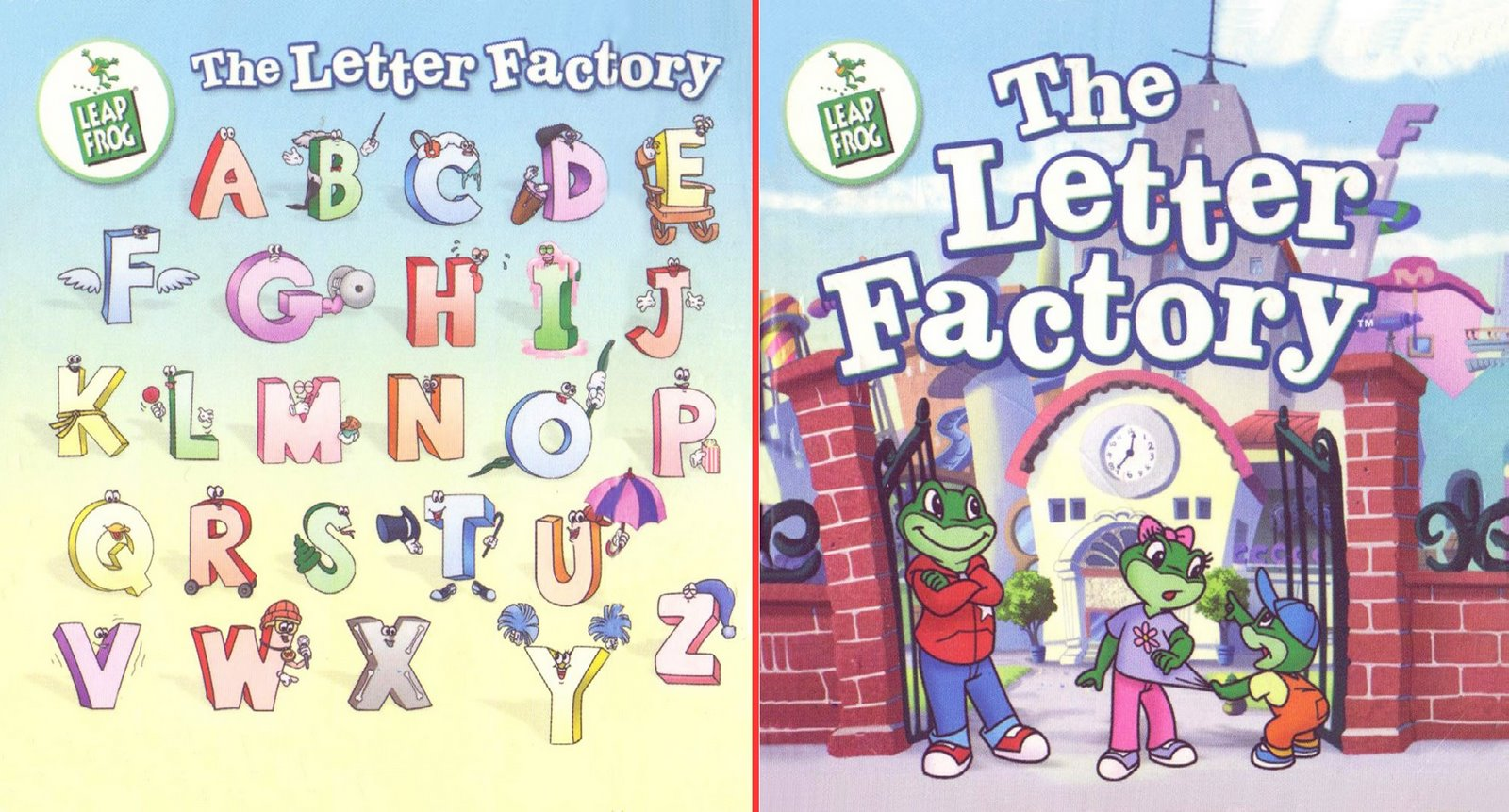 Leapfrog letter factory bed mattress sale for Abc leapfrog letter factory