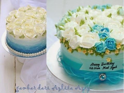 alam sari di tanah jauhar sky blue ombre cake untuk hari