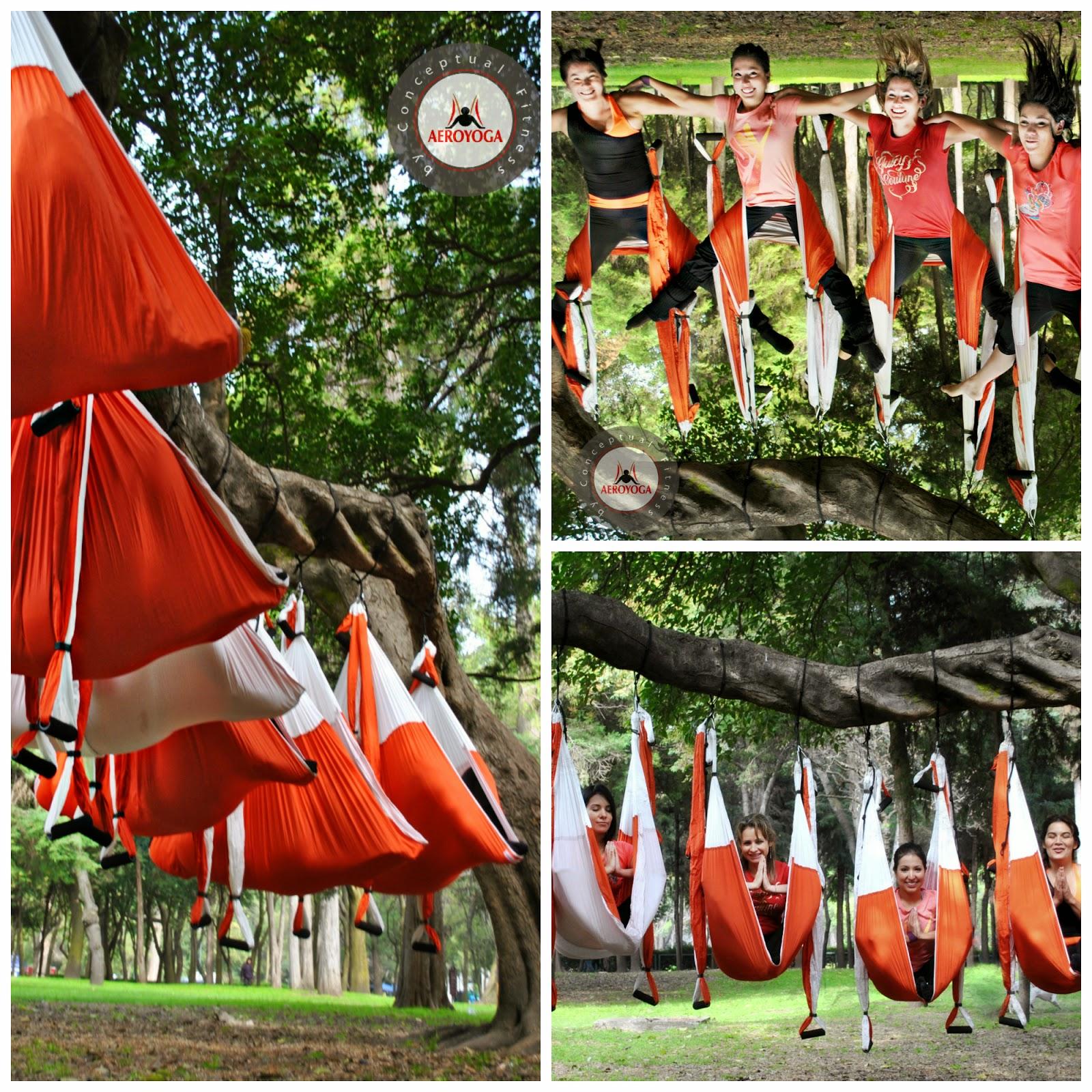 yoga aereo swing