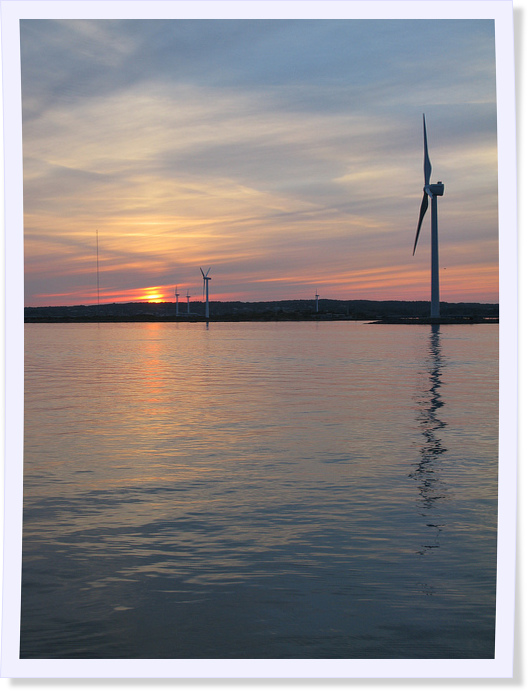 Wind Farm at Suset - Gothenburg, Sweden