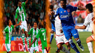Partido Atlético Nacional Vs Universidad Chile