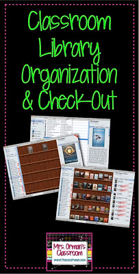 Classroom Library Organization www.traceeorman.com