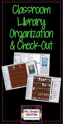 Classroom Library Organization www.traceeorman.com