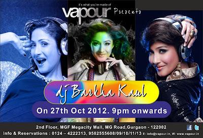Live DJ Barkha kaul in Delhi