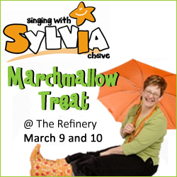 singing with sylvia marchmallow treat