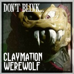 Claymation Werewolf
