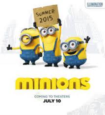 Data lançamento filme Minions 2015