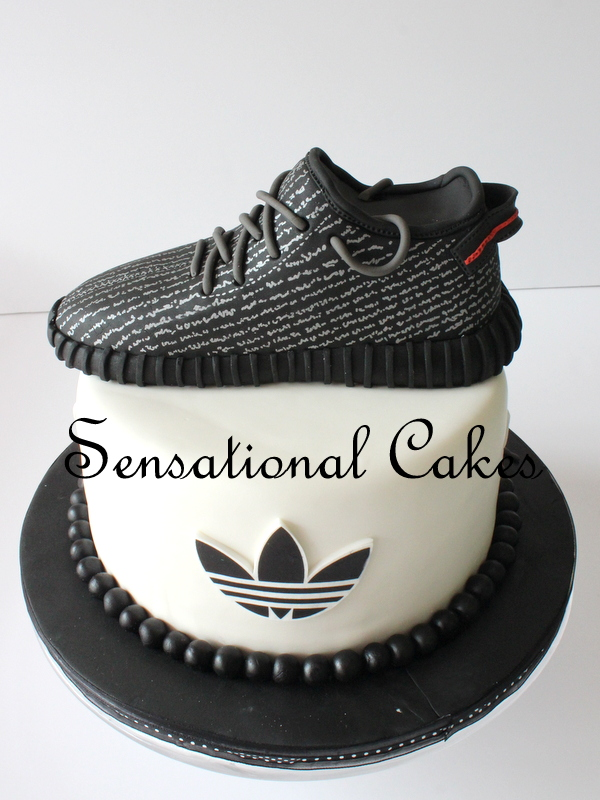Pastry Shoes 2016 >> Cakes2Share Singapore: KANYE WEST ADIDAS SHOES 3D CAKES # NO KIDDING THIS IS CAKE NOT SHOES 3D ...