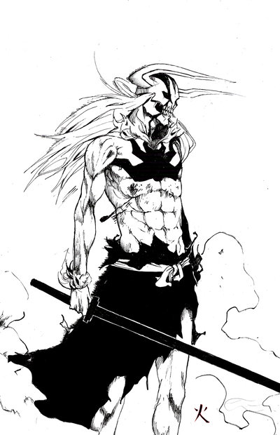Bleach Anime Ichigo Coloring Pages