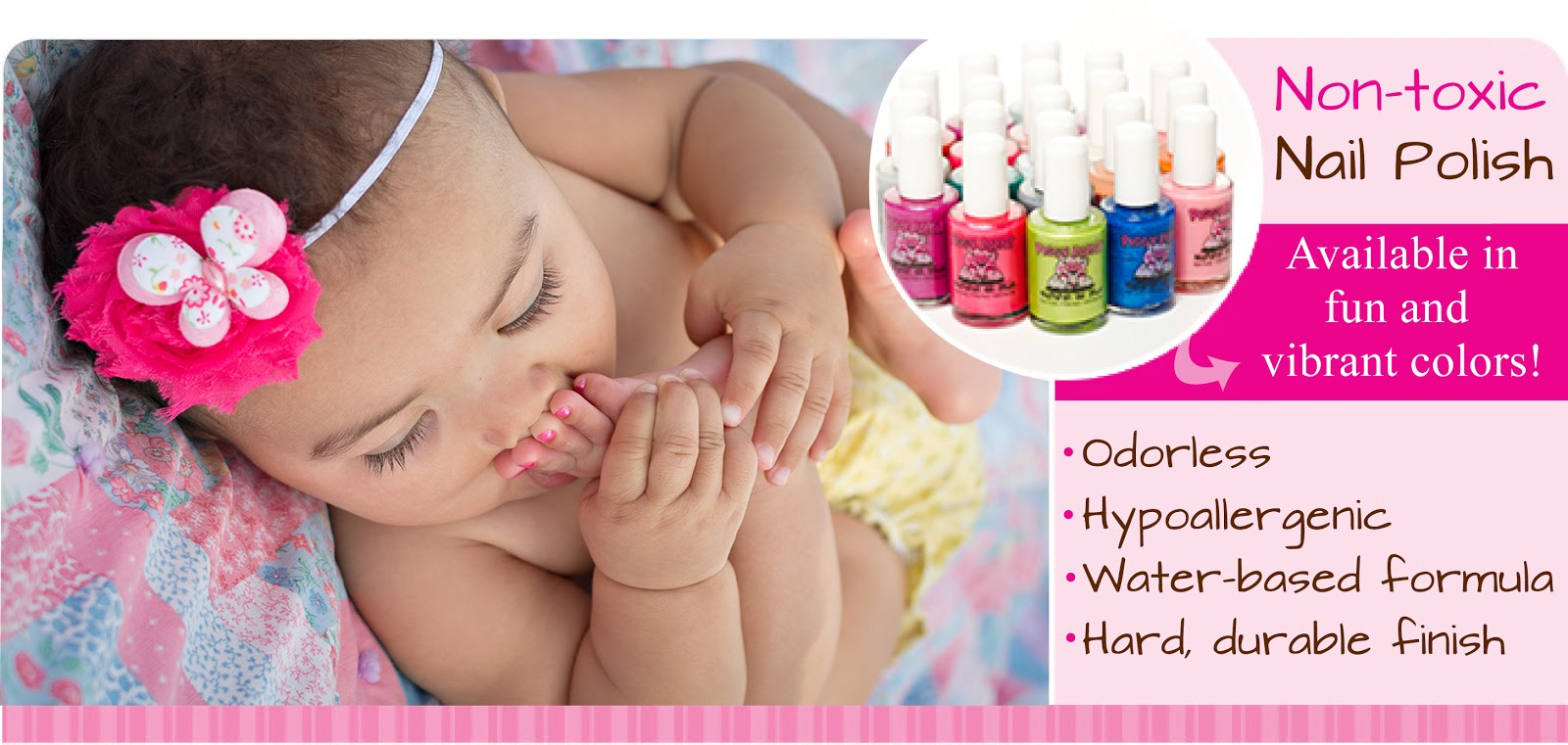 Piggy Paint Natural Nail Polish for Kids