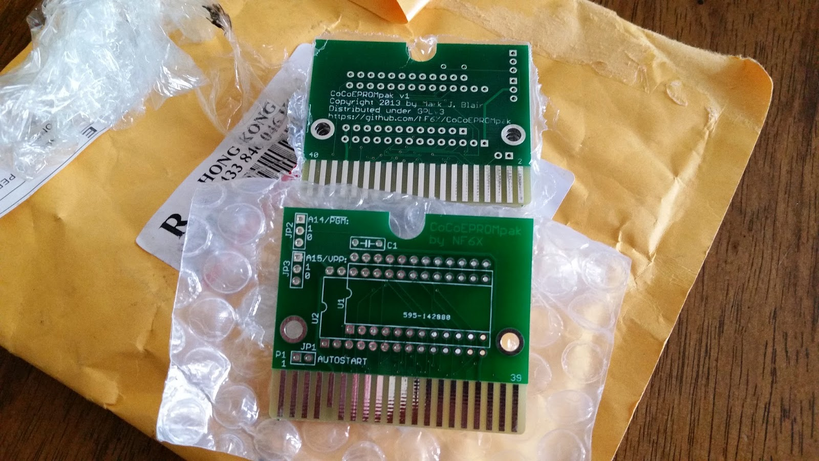 The Making of Fahrfall: Circuit Boards