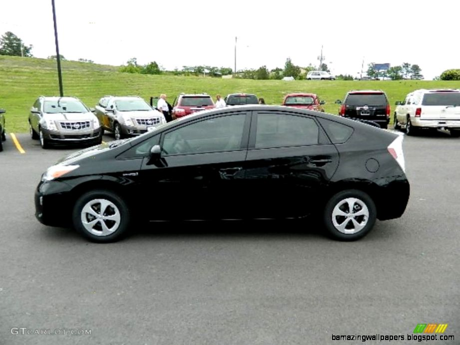 2012 Black Toyota Prius 3rd Gen Three Hybrid 63723567 Photo 6
