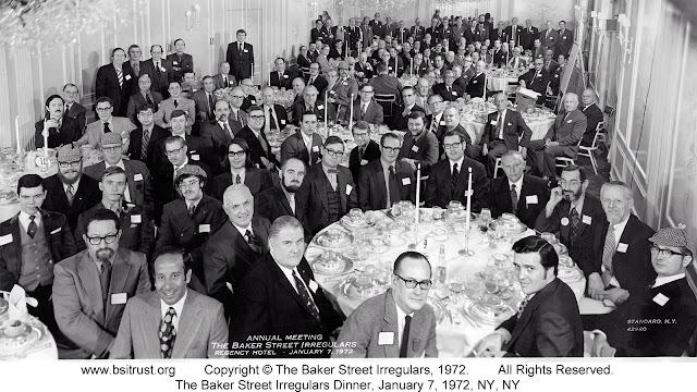 The 1972 BSI Dinner group photo