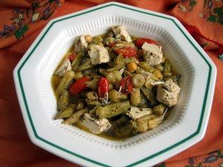 Tavuk Etli Bamya