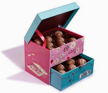 trufas de chocolate e morango sem álcool Cacau Show dia dos namorados
