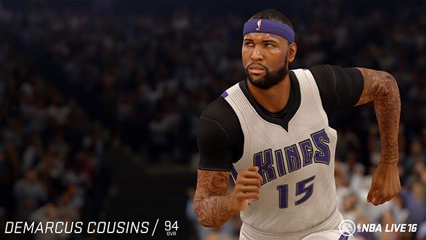 NBA Live 16 Demarcus Cousins