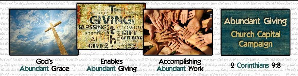 church capital campaign