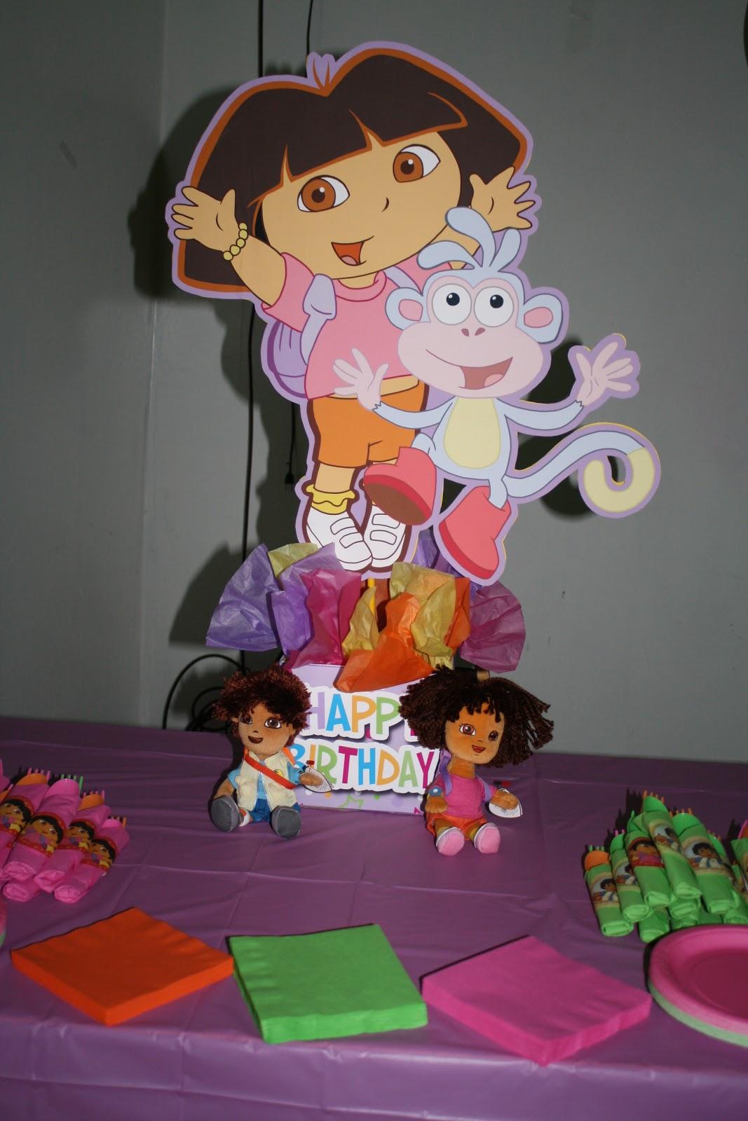 Small Wonders Delaineys Dora Party