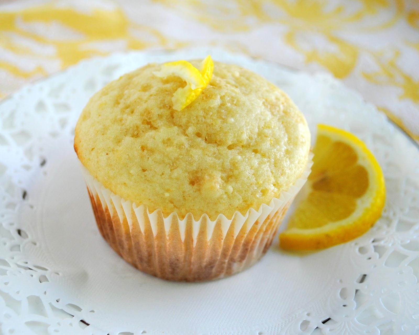 Кексы лимонные внутри рецепты