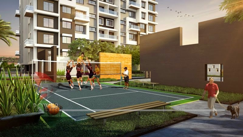 """jogging track and outdoor game area"""