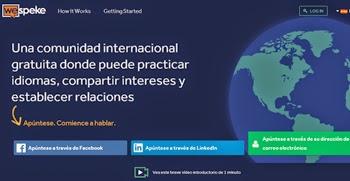 Aprende idiomas en la red social de WeSpeke