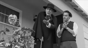 Martin Landau y Johnny Depp en Ed Wood