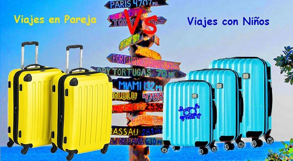 Viajar en Pareja Vs Viajar con Niños
