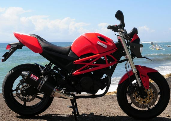 Modifikasi Yamaha Byson Ducati 2012 title=