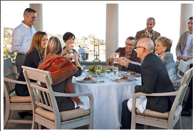 Nest by Tamara: SFC&G magazine showcases California sensibilities in design & entertaining: Paul Vincent Wiseman's home & table delights!