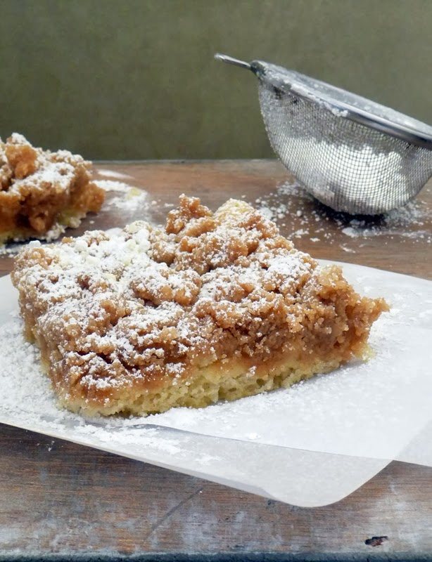 New York Crumb Cake | Life Tastes Good