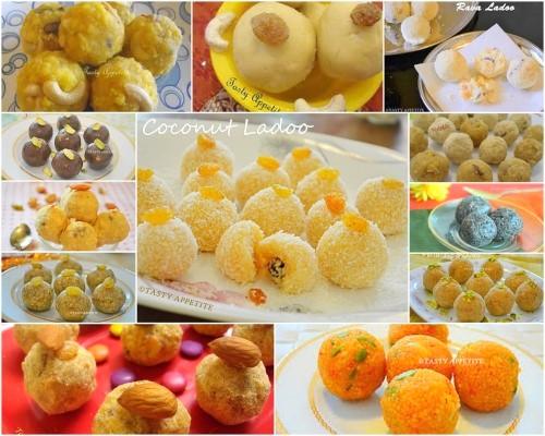ladoo recipes / 12 easy ladoo recipes / festival special sweets