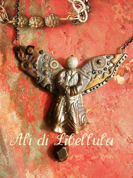 "Ali di Libellula: COLLIER "" MODERN ANGEL"" Cutencool"