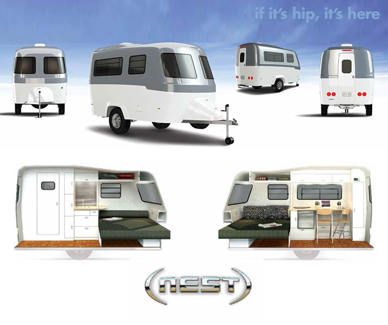 ... Here (Archives): Good Design For The Great Outdoors: Nest Caravans