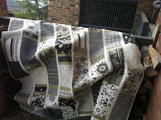 "Tribeca Garden Urbanicity quilt, fabric by Michele d""Amore, Benartex"