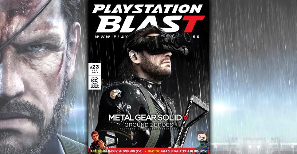 Revista PlayStation Blast N°23 MGSV
