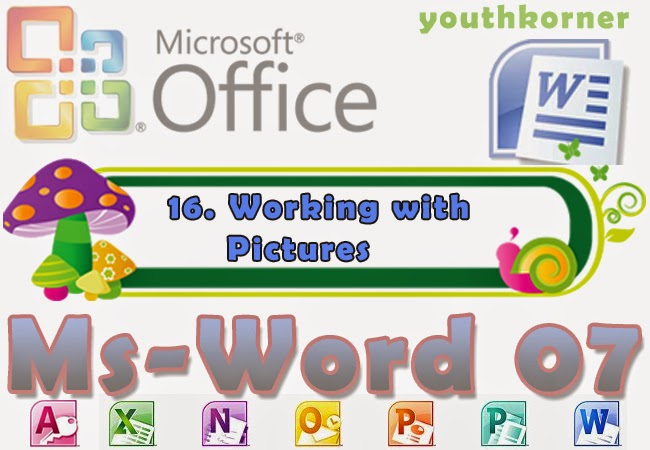 Working with Pictures in Word 2007