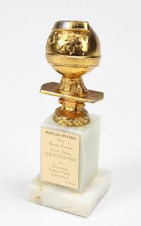 Marlon brando, Parrain, GodFather, Oscar, auction, L'Oscar du Parrain, accordé à Marlon Brando, vendu aux enchères