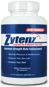 ZYTENZ MALE ENHANCEMENT PILL CONTAINS INGREDIENTS CLINICALLY PROVEN INDIVIDUALLY TO: