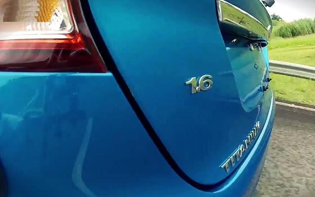Novo Fiesta hatch 2014