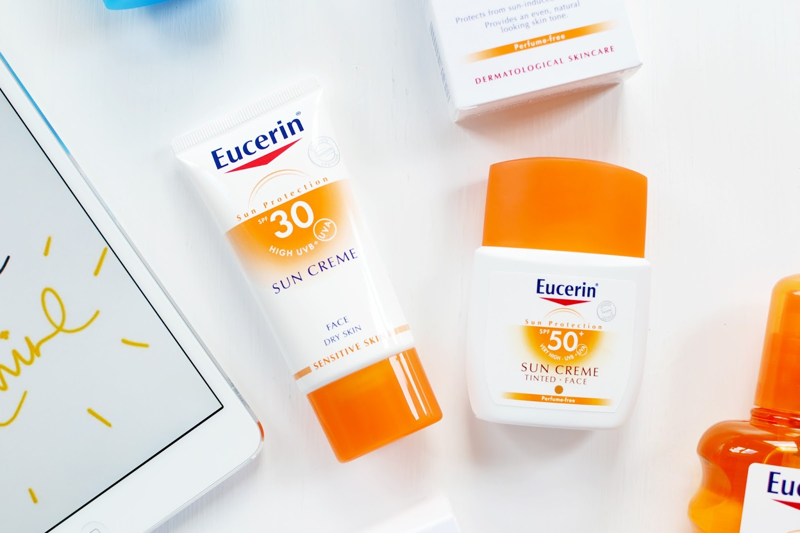 eurecin sun care products