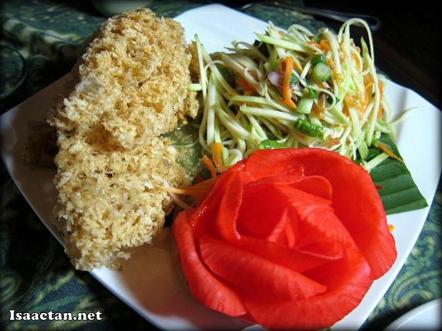 Crispy Catfish with Mango Salad - RM20