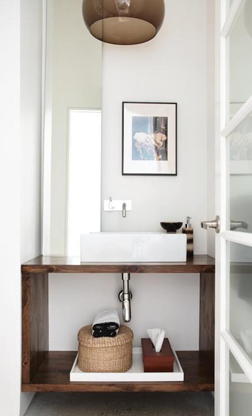 Idea Powder Room Vanity