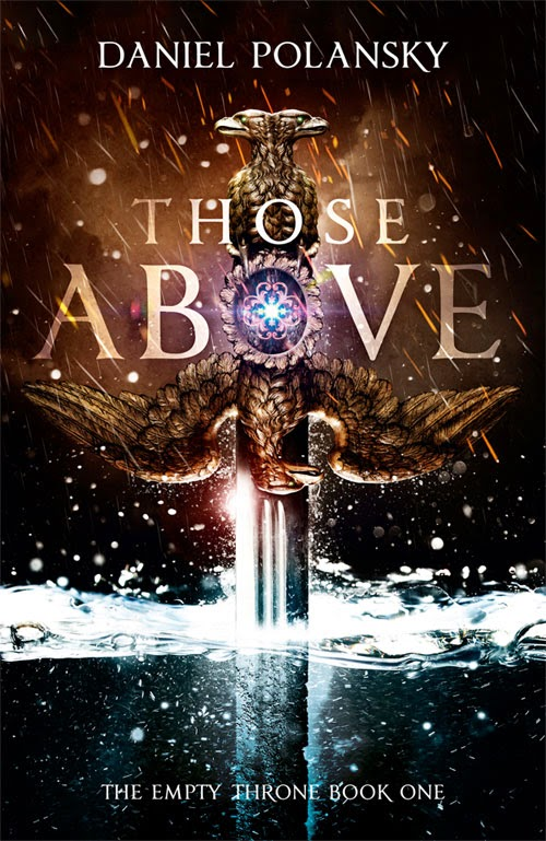 Those Above by Daniel Polansky book cover