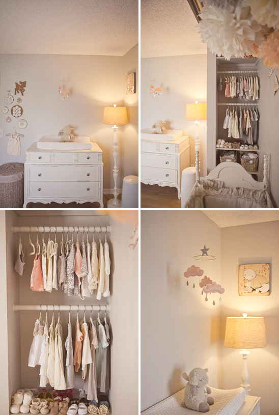 Pepper And Buttons Decor Soft Peach And Grey Nursery