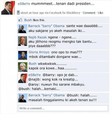 Status Facebook Lucu Kocak Gokil