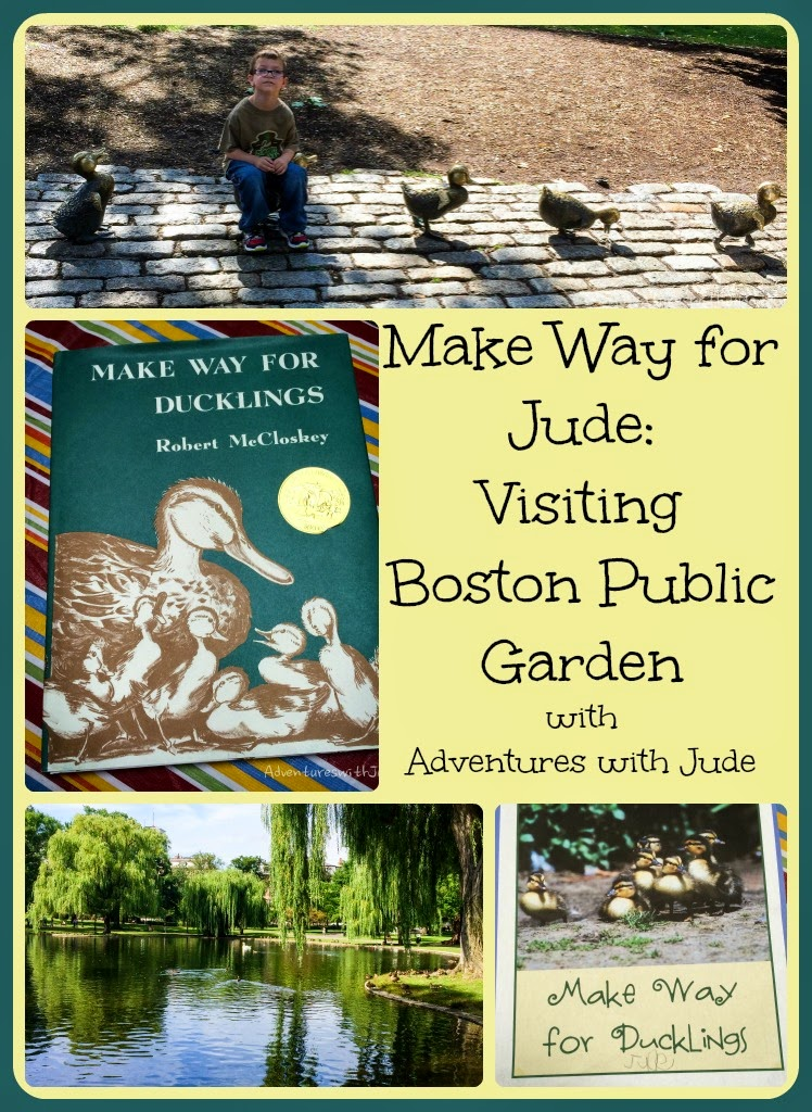 Trip to Boston Garden and Make Way for Ducklings
