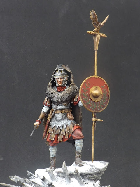 Roman Aquilifer - Ares Mythologic 75mm 013