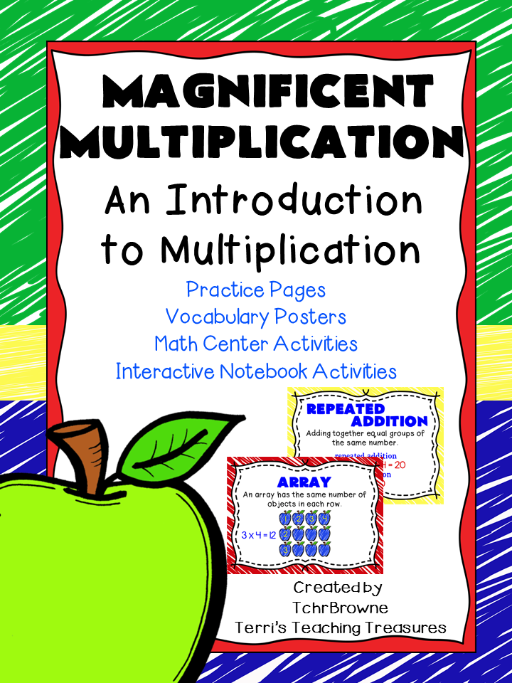 https://www.teacherspayteachers.com/Product/Magnificent-Multiplication-Introduction-to-Multiplication-1408795