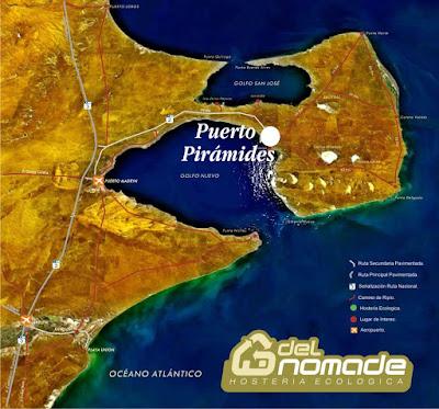 Halbinsel Valdés Karte Beschreibung und Fauna