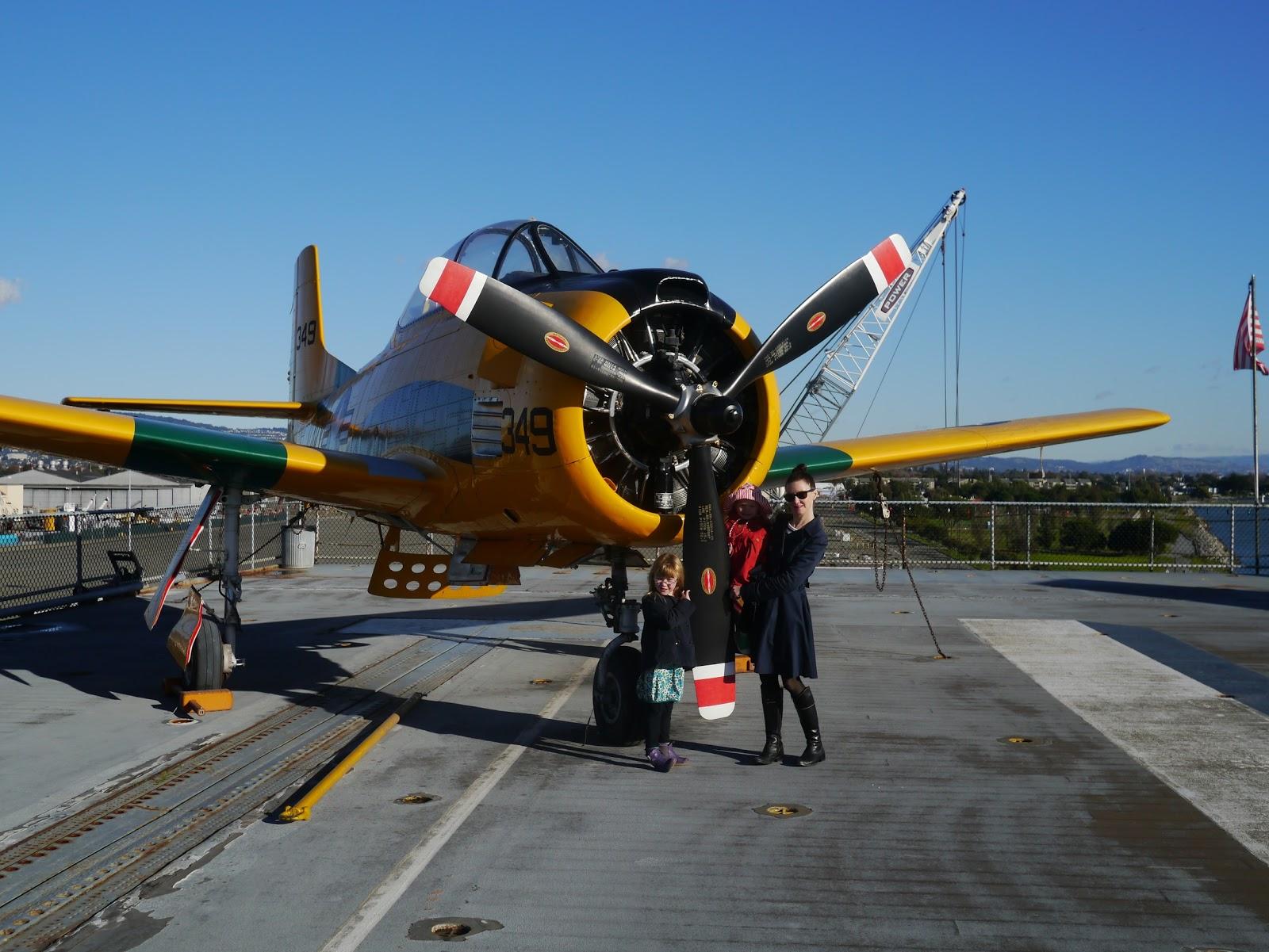 Little Hiccups: USS Hornet Museum